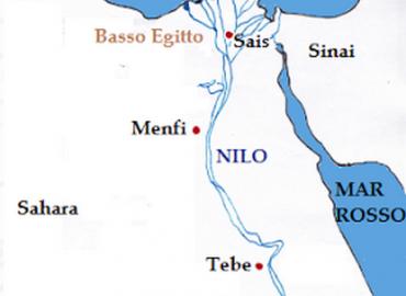 Menfi : famosa città dell'antico Egitto