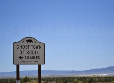La ghost town di Bodie, in California