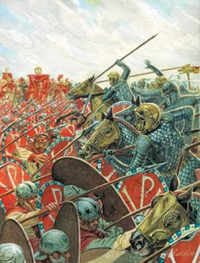 La battaglia di Adrianopoli (324 d.C.)