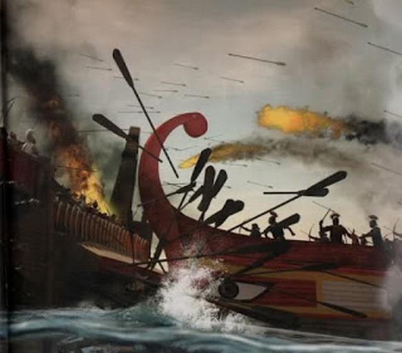 La battaglia dell'Ellesponto (324 d.C.)