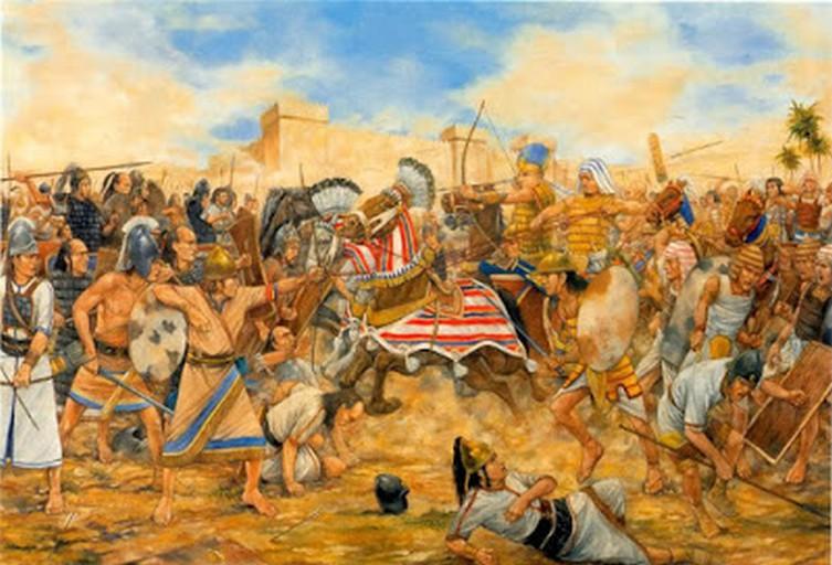 Le battaglie di Carchemish e Hamat (605 a.C.)