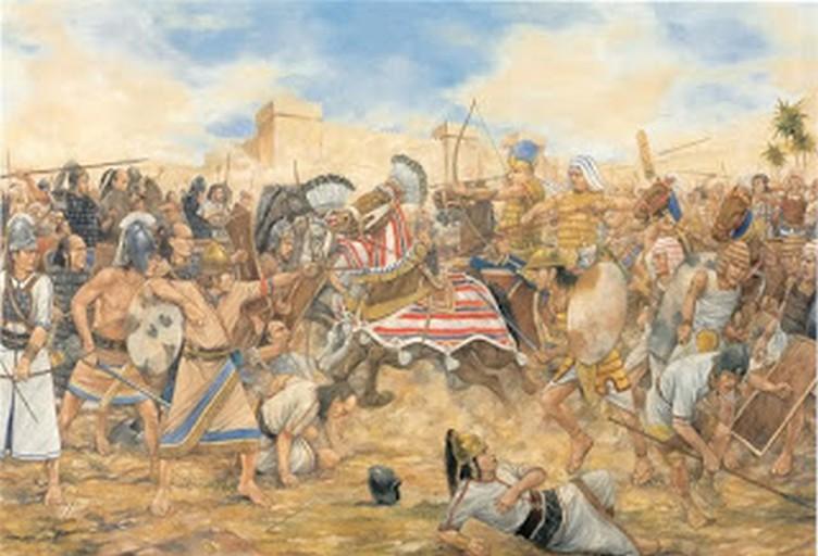 La battaglia di Megiddo (1457 a.C.)