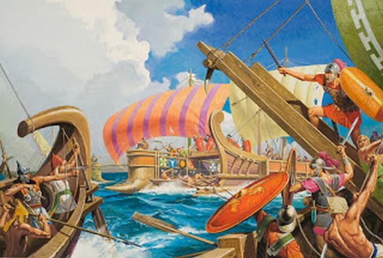 La battaglia delle Isole Lipari (260 a.C.)