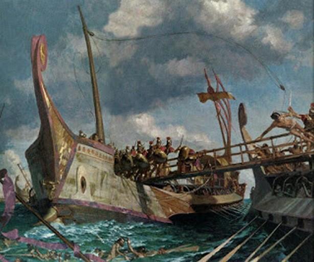 La battaglia di Capo Corico (191 a.C.)