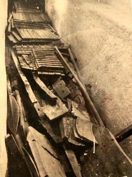 Barca solare di Cheope, ritrovamento