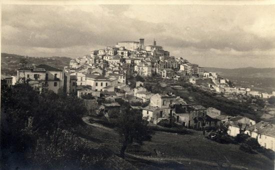 Campo Casoli all'inizio degli anni '40