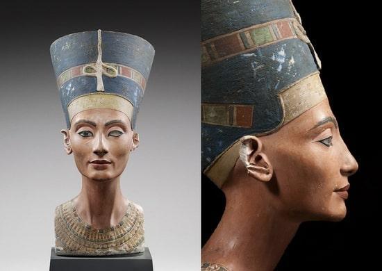 Busto di Nefertiti, opera dello scultore reale Thutmose