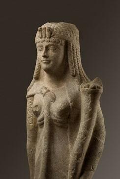Busto di regina tolemaica attribuito a Cleopatra
