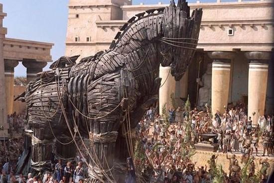 Rappresentazione del Cavallo di Troia